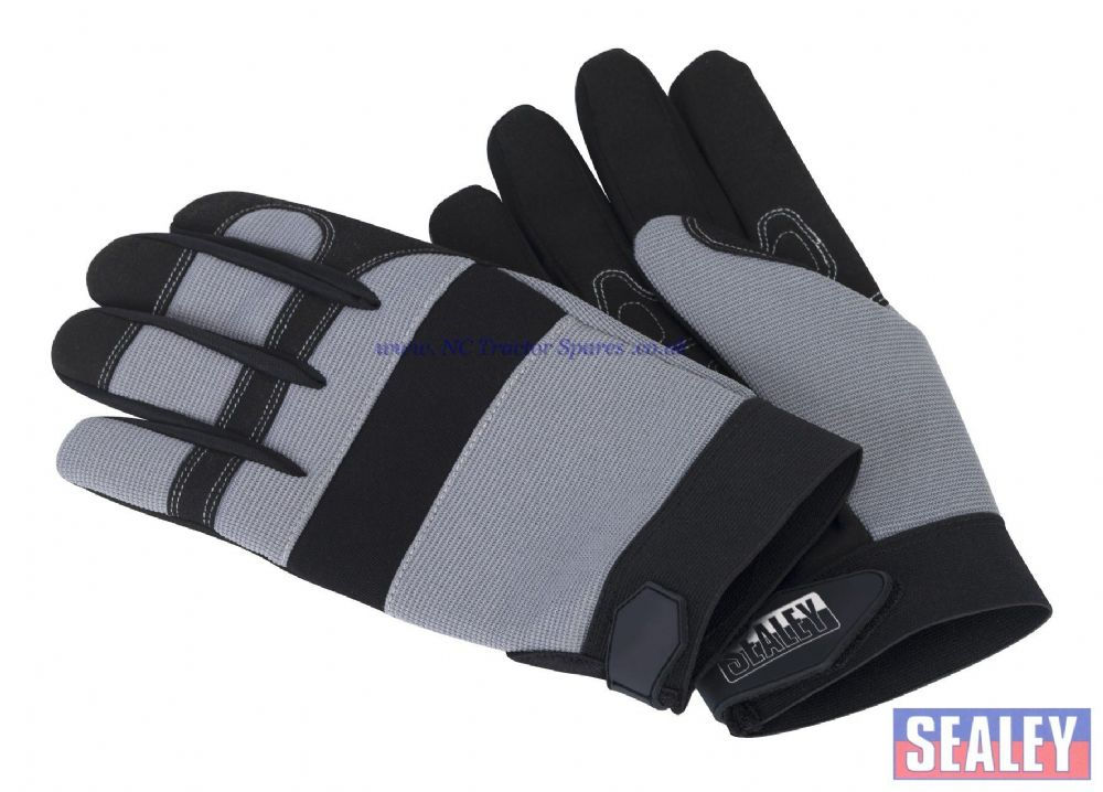 Mechanic's Gloves Padded Palm - Large